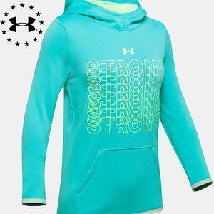 Girls' Armour Fleece® Strong Hoodie - Size 8